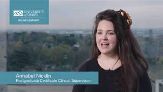 Annabel Nicklin - why I chose to study online with UDOL