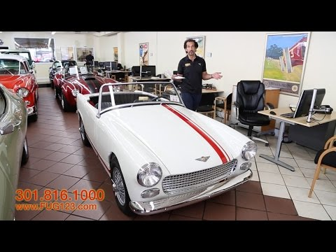 1961 Austin Healey Sprite Roadster for sale with test drive, driving sounds, and walk through video