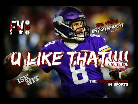 BREAKING NEWS!!! Kirk Cousins going to the Vikings