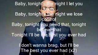 John Legend Ft  Ludacris   Best You Ever Had Karaoke