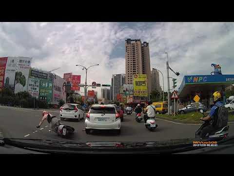 新竹往園區方向汽機車擦撞
