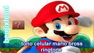 bajar ringtone mario bross sms tono celular