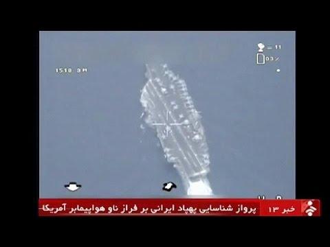 Un drone iranien parvient à survoler un porte-avion américain
