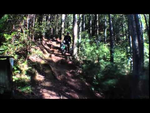 mountai unicycling 36℃ (видео)