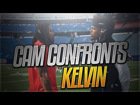 Cam Newton Confronts Kelvin Benjamin!