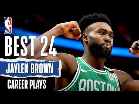 Jaylen Brown's 24 BEST Plays | #NBABDAY 🎂
