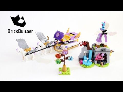 Vidéo LEGO Elves 41077 : Le traîneau d'Aira