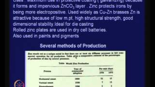 Mod-01 Lec-24 Lecture-24-Extraction Of Lead