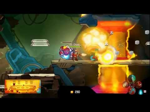 Awesomenauts — Sheriff Lonestar Gameplay Footage