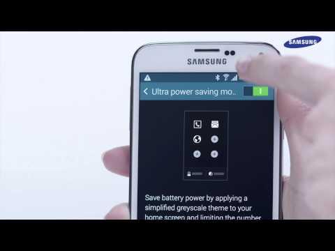 Samsung GALAXY S5 - jak korzystać z funkcji trybu oszczędzania energii