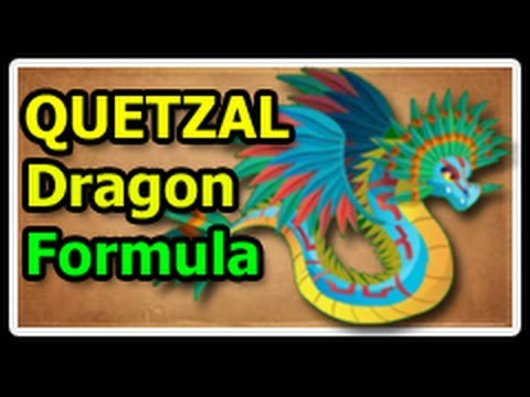 QUETZAL DRAGON Deus Vault FORMULA in Dragon City
