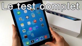 iPad Air : Le test complet - Design, Rapidité, Photo & Video (Français) - YouTube
