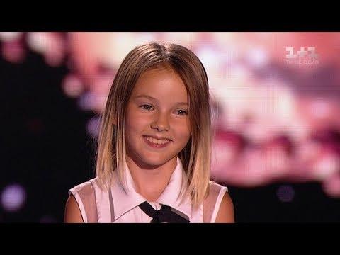 10-latka wybrała utwór niemożliwy do wykonania. Jednak gdy tylko zaczęła śpiewać, jurorom opadły szczęki!