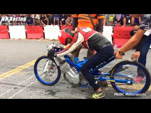 Drag Bike Battle Malaysia - Honda Sonic Super Open