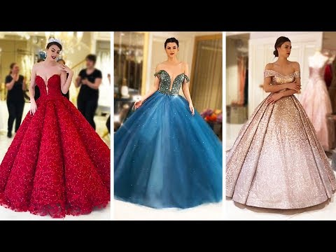 Play this video BEST GLAMOROUS DRESS COMPILATION