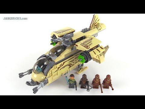 """Конструктор LEGO Star Wars 75084 """"Боевой корабль Вуки"""""""