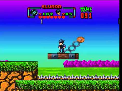 The Blues Brothers Super Nintendo