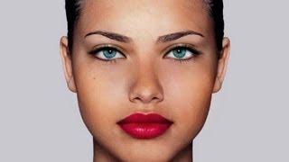 Adriana Lima Photoshop make up