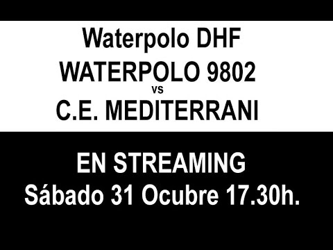 Waterpolo9802 vs Mediterrani