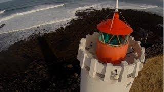 Aerial Iceland - Grótta Lighthouse Area In Reykjavík (DJI Phantom 2, Fatshark FPV)