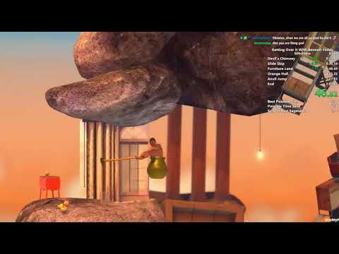 "Streamer Distortion2 becomes first person to complete the game ""Getting Over It With Bennett Foddy"" in under two minutes"