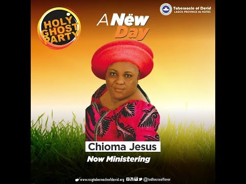 Chioma Jesus @ The Holy Ghost Party 26th October 2018