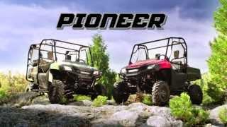 6. 2014 Honda Pioneer 700
