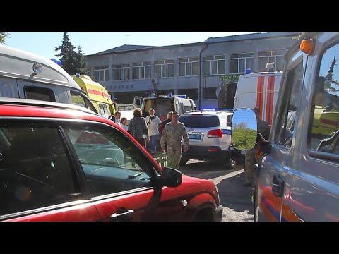 Russland: Amokläufer tötet mindestens 17 Menschen in Schule auf der Krim