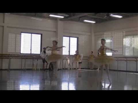 NBAバレエ団公演リハーサル ライモンダ 2014#01