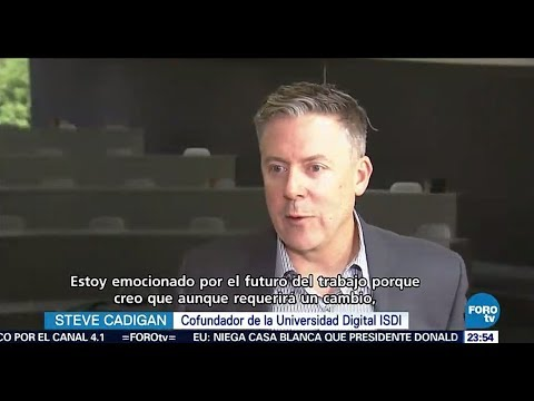 Steve Cadigan on Televisa Mexico Discussing The Future of Work