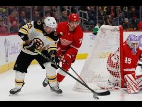 Red Wings Get a Huge Win Over Boston