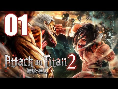 Attack on Titan 2 - Gameplay Walkthrough Part 1: A New Recruit (видео)