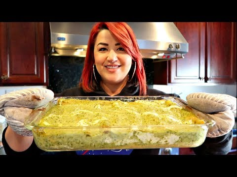 How To Make Green Chile Enchiladas (EASY Step By Step)| Views Recipe