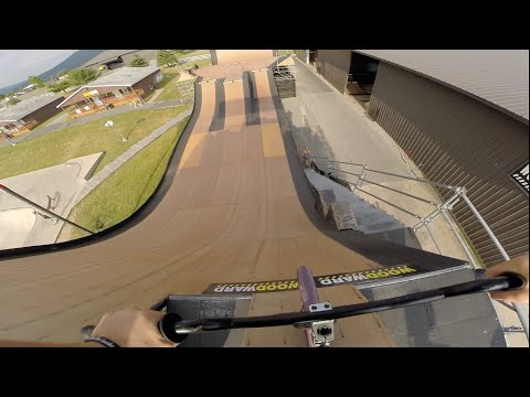 Adventures and BMX at Woodward (Day 1)