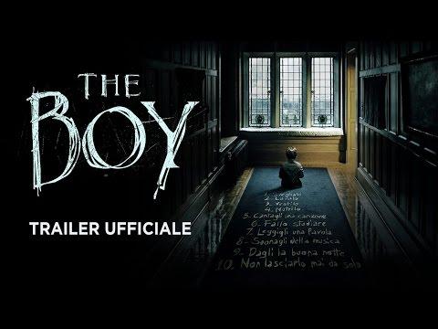 Preview Trailer The Boy, trailer italiano
