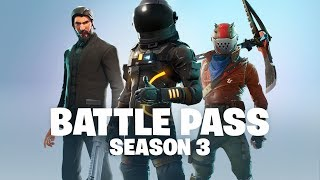 Battle Pass Season 3 Announce (Battle Royale)