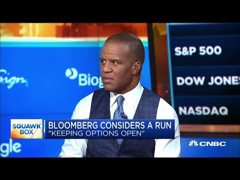 Operation Hope founder: Bloomberg 'checks all the boxes' to run for president in current climate