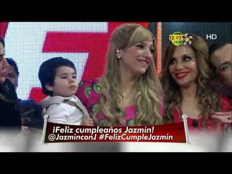 jazmin - Festejan a Jazmín en Premios Fama.