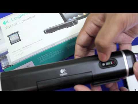 Logitech Tablet Speaker (for iPad) Review