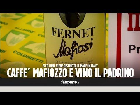 """dal caffè """"mafiozzo"""" al vino """"il padrino"""": etichette choc in commercio!"""