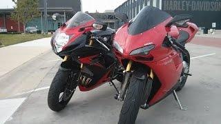 7. 2008 Ducati 848 VS 2014 Suzuki GSXR 750