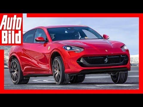 Ferrari SUV - ein FUW Achtzylinder mit 723 PS? (2019)