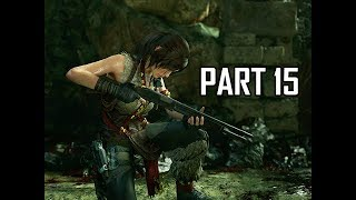 Shadow of the Tomb Raider Walkthrough Part 15 - Shotgun (Let's Play Gameplay Commentary)
