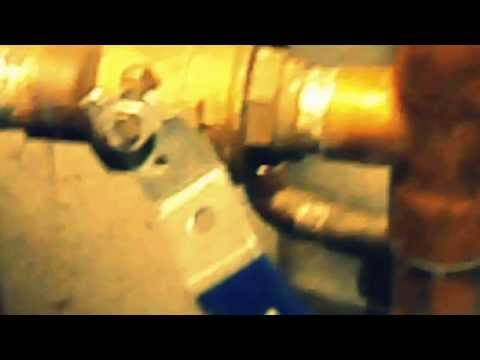 putting in ball valves