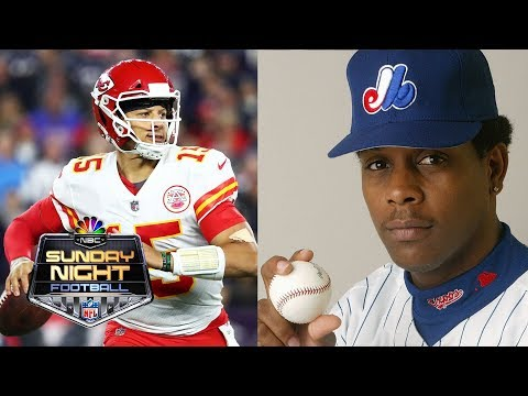 Video: Patrick Mahomes on how MLB players influenced his outlook I NFL I NBC Sports