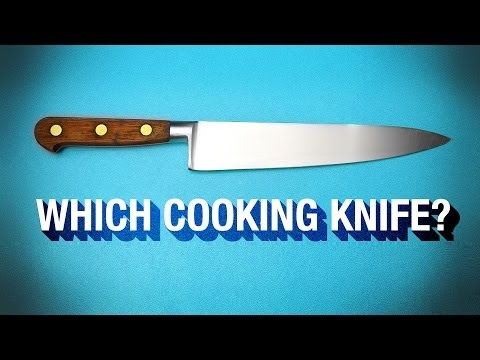 3 Cooking Knives You Can't Live Without !