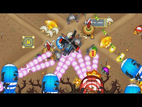 Bloons Tower Defense 5 - NEW CRAZY MAP - NEW SKINS!
