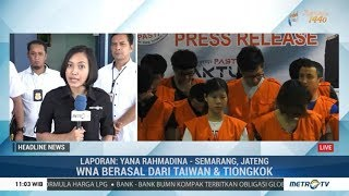 Download Video 40 Orang Bandit Internet Asal Taiwan dan Tiongkok Diringkus Polda Jateng MP3 3GP MP4