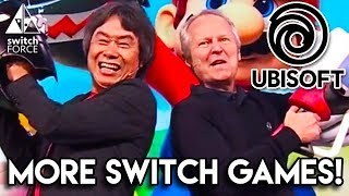 """Nintendo Switch and Ubisoft look to be strengthening their partnership, as Ubisoft states more Switch games are coming """"quite soon"""" during today's investor call. What could those new games be? Let us know what YOU think in the comments down below!Follow Us On Twitter: http://twitter.com/TheSwitchForceFollow Us on Instagram: http://instagram.com/SwitchForce"""