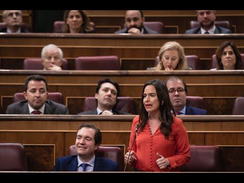 Intervención de Belén Hoyo en la Sesión de Control al Gobierno